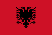 Flag of the Albanian nation