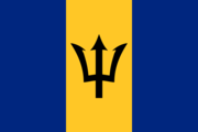 Flag of the Barbadian nation