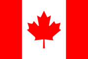 Flag of the Canadian nation