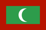 Flag of the Maldivian nation