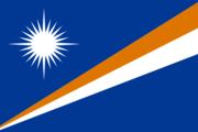 Flag of the Marshallese nation