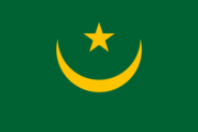 Flag of the Mauritanian nation