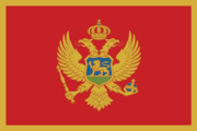 Flag of the Montenegrin nation