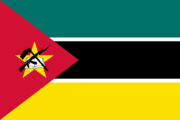 Flag of the Mozambican nation