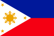 Flag of the Filipino nation