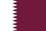 Flag of the Qatari nation
