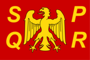 Flag of the Roman nation